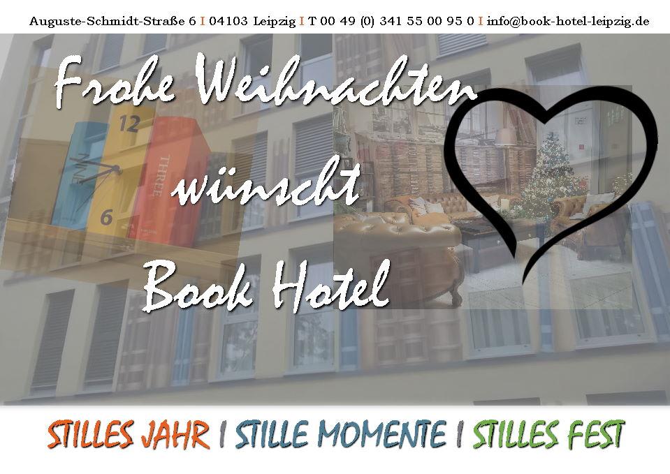 Book Hotel Leipzig Weihnachtsgrüße